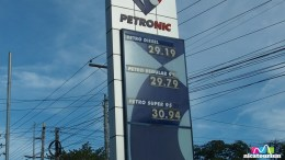 Gas prices in Managua,Nicaragua